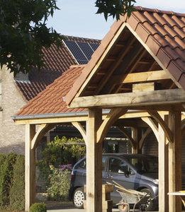 carport met hout