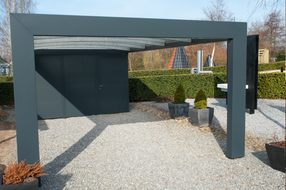 vergunning losstaande carport