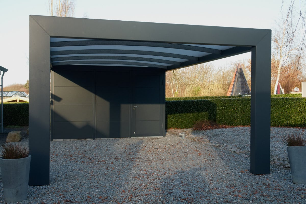metalen carport info voordelen kostprijs. Black Bedroom Furniture Sets. Home Design Ideas