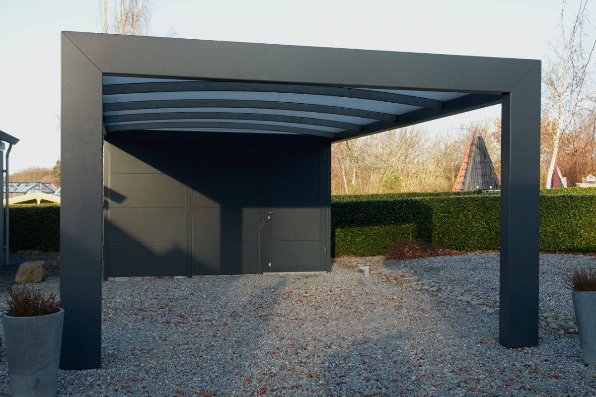 carport in aluminiun
