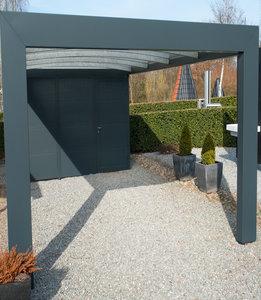2 metalen carport