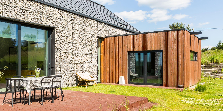 houten bijgebouwen modern