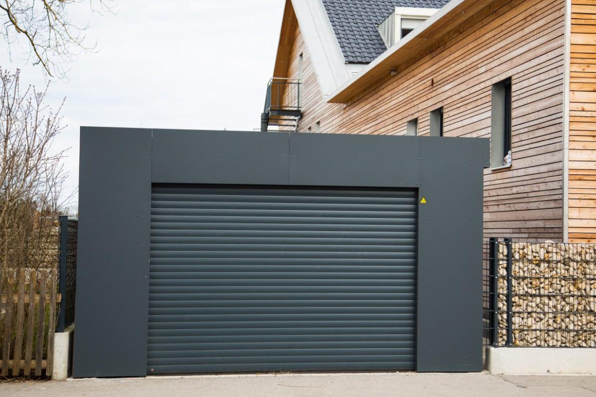 prefab garagebox metaal